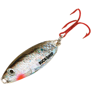 Buckshot Logo, Fishing Lure